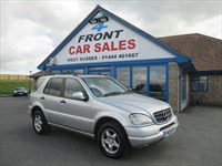 Used Mercedes ML320 M CLASS 5dr Auto FULL SERVICE HISTORY