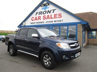 Used Toyota Hilux Invincible D/Cab Pick Up D-4D 4WD Auto
