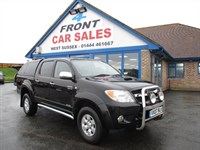 Used Toyota Hilux D-4D Invincible Pickup NO VAT-SAT/NAV-LEATHER