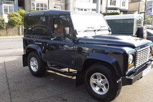 used Land Rover Defender 90 COUNTY  ONLY 9,000 MILES in sheffield-south-yorkshire