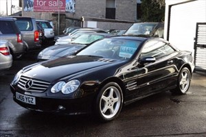 used Mercedes SL350 LOW MILES+PAN ROOF+ in sheffield-south-yorkshire