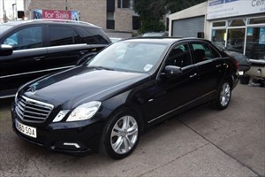 used Mercedes E200 CDI BLUEEFFICIENCY AVANTGARDE in sheffield-south-yorkshire