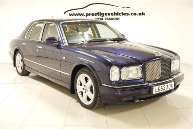 used Bentley Arnage R in sheffield-south-yorkshire