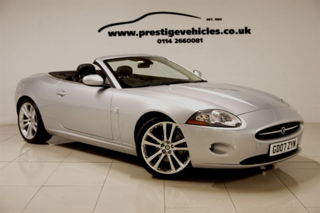 used Jaguar XK CONVERTIBLE in sheffield-south-yorkshire