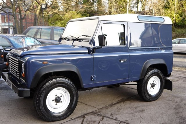 Click here for more details about this Land Rover Defender 90 TD HARD TOP