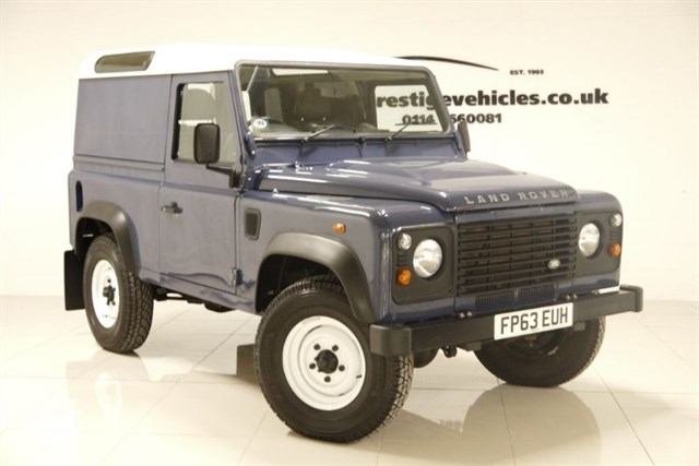 Click here for more details about this Land Rover Defender 90 TD HARD TOP INC VAT
