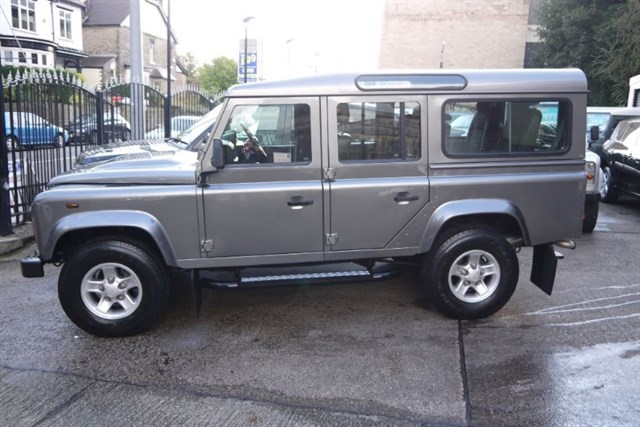 Click here for more details about this Land Rover Defender 110 COUNTY STATION WAGON