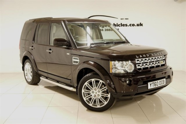 used Land Rover Discovery 4 TDV6 HSE in sheffield-south-yorkshire