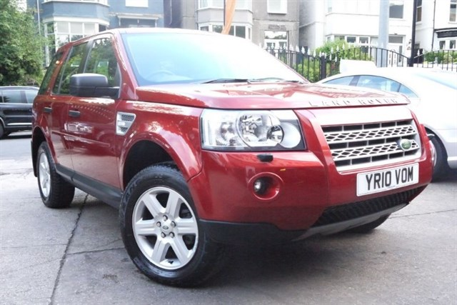 Click here for more details about this Land Rover Freelander TD4 E GS