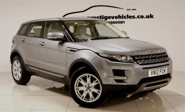 used Land Rover Range Rover Evoque TD4 PURE in sheffield-south-yorkshire