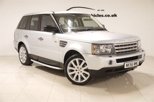 used Land Rover Range Rover Sport V8 S/C in sheffield-south-yorkshire