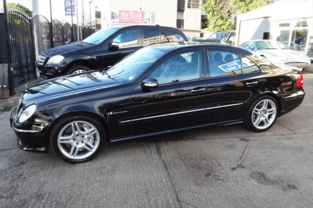 Click here for more details about this Mercedes-Benz E55 AMG PAN ROOF