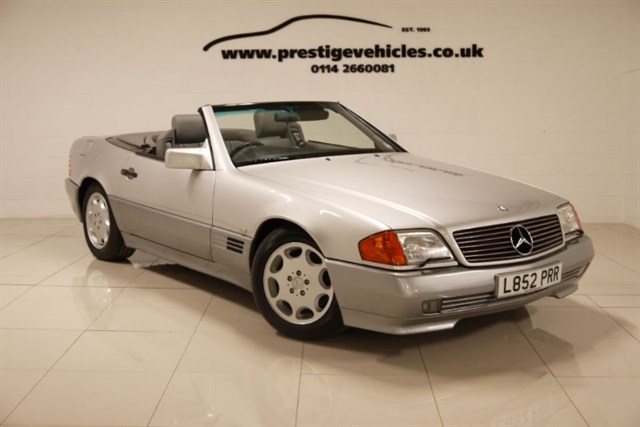 Click here for more details about this Mercedes-Benz SL 300 SL-24 48000 miles