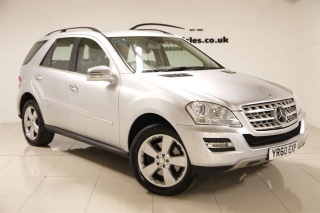 Click here for more details about this Mercedes-Benz ML450 CDI SE