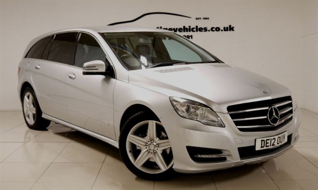 used Mercedes R350 CDI 4MATIC in sheffield-south-yorkshire