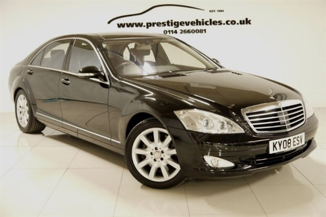 used Mercedes S500 LWB INDIVIDUAL SPEC in sheffield-south-yorkshire