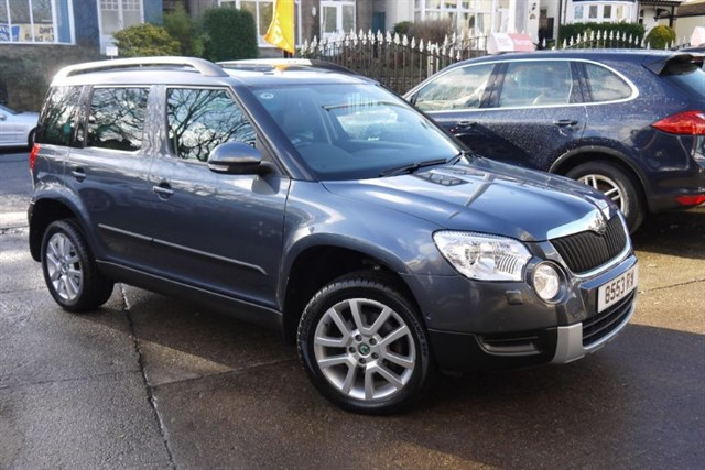 Click here for more details about this Skoda Yeti ELEGANCE TDI CR