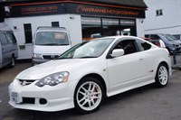 Used Honda Integra TYPE R DC5 White 6 Speed, Red Seats Immaculate