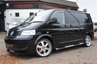 Used VW TRANSPORTER T30 SWB PBV TDI FULL SIDE CONVERSION + ROCK AND ROLL BED+AC+140
