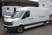 Used VW Crafter CR35 TDI LWB HIGH ROOF 109PS EURO 5 COMMERCIAL VAN