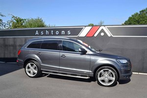 used Audi Q7 3.0 TDi Quattro (245) Clean Diesel Auto - Ultimate Specification in devon