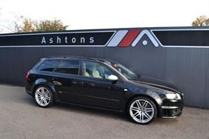 used Audi RS4 Avant 4.2 Quattro Manual - Silver Leather - FSH in devon