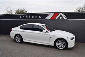 used BMW 520d M Sport Auto - Pro Media Pack - Only 5,000 Miles in devon