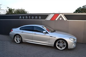 """used BMW 640d M Sport Gran Coupe Auto - Head Up Display & 20"""" Alloys in devon"""