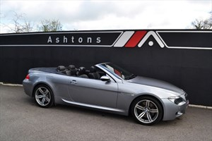 used BMW M6 Convertible SMG Auto in devon