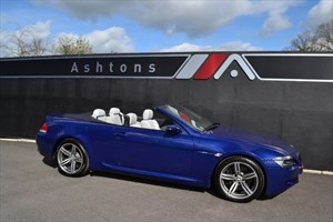 used BMW M6 Convertible SMG Auto - Only 29,000 Miles in devon