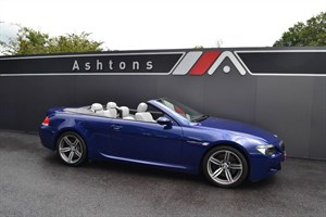 used BMW M6 Convertible SMG Auto - Stunning Low Mileage Example in devon