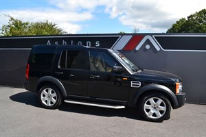 used Land Rover Discovery 3 2.7 TDV6 HSE Auto - Alpaca Beige Leather in devon