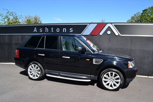 used Land Rover Range Rover Sport 3.6 TDV8 HSE Auto - Ivory Leather in devon