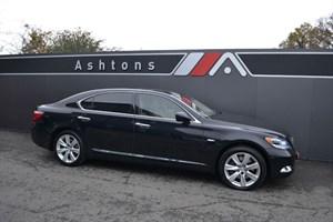 used Lexus LS 600h L Auto - 1 Owner - Ivory Leather Interior in devon
