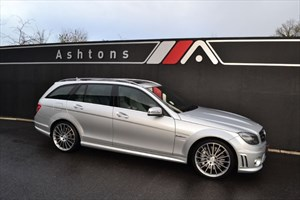 used Mercedes C63 AMG Estate Auto - Only 12K Miles - AMG Perfomance Pack in devon
