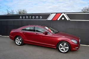 used Mercedes CLS350 CDI BlueEfficiency Tip Auto - High Specification in devon