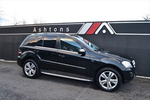 used Mercedes ML350 CDI BlueEFFICIENCY Sport Auto in devon