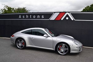 "used Porsche 911 3.8 C4S Targa Tiptronic S - 19"" Turbo Alloys in devon"