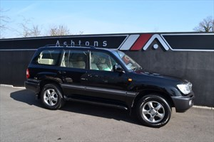 used Toyota Land Cruiser Amazon 4.2 TD Auto - With Rear Entertainment System in devon