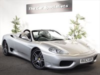 Used Ferrari 360 SPIDER HUGE SPEC STUNNING EXAMPLE