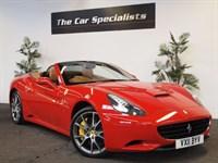 Used Ferrari California 2 PLUS 2 F1 DUAL CLUTCH REMAINDER OF 7 YR SERVICE PLAN