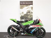 Used Kawasaki ZX10R JAMES HILLIER'S 2013 IOM PODIUM FINISH RACE BIKE