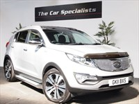 Used Kia Sportage CRDI KX-3 SAT NAV HUGE SPEC ONE OWNER