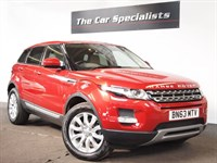 Used Land Rover Range Rover Evoque 2.2 SD4 4X4 PURE   FULL ALMOND LEATHER