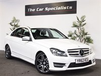 Used Mercedes C180 BLUEEFFICIENCY AMG SPORT PLUS HUGE SPEC STUNNING EXAMPLE