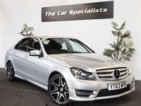 Used Mercedes C220 CDI BLUEEFFICIENCY AMG SPORT PLUS STUNNING EXAMPLE