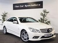 Used Mercedes E220 CDI BLUEEFFICIENCY SPORT DIAMOND WHITE FSH