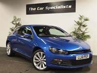 Used VW Scirocco GT TDI BLUEMOTION DSG HUGE SPEC NAV LEATHER