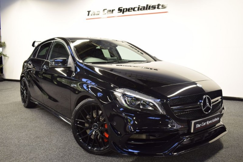 used obsidian black mercedes a45 amg for sale south yorkshire. Black Bedroom Furniture Sets. Home Design Ideas