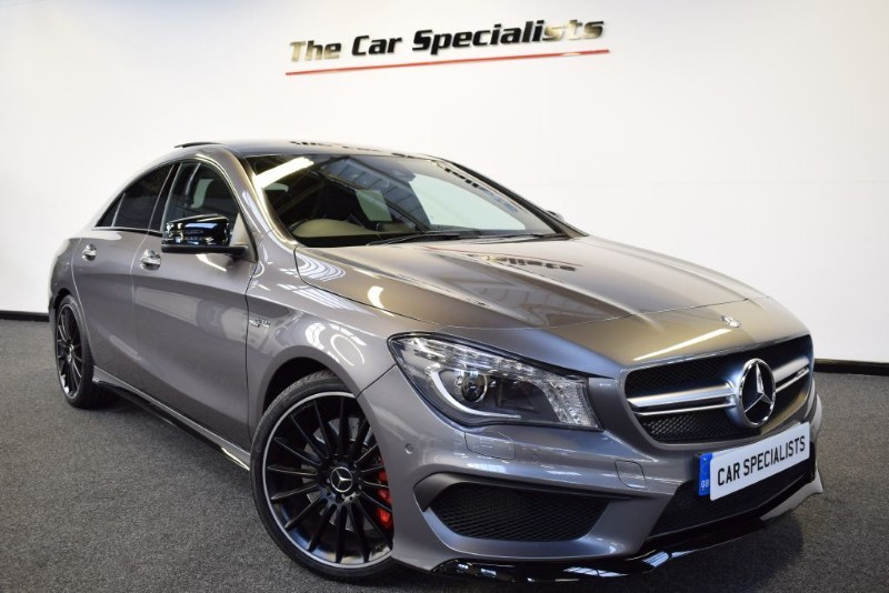 used mountain grey mercedes cla45 amg for sale south yorkshire. Black Bedroom Furniture Sets. Home Design Ideas